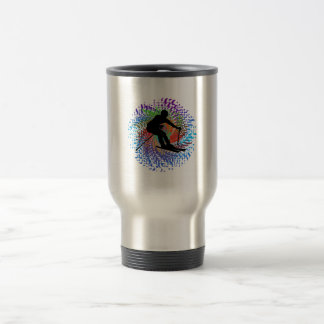 Downward Spiral Travel Mug