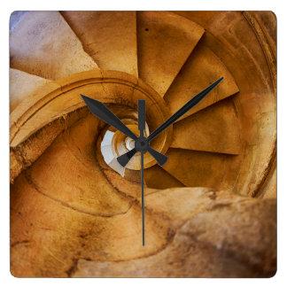 Downward spirl staircase, Portugal Clock
