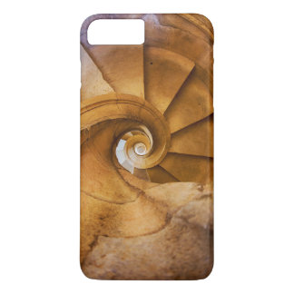 Downward spirl staircase, Portugal iPhone 8 Plus/7 Plus Case
