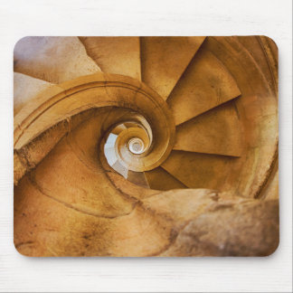 Downward spirl staircase, Portugal Mouse Pad