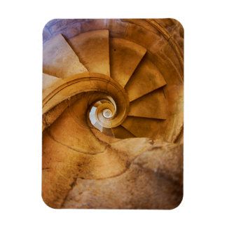 Downward spirl staircase, Portugal Rectangular Photo Magnet
