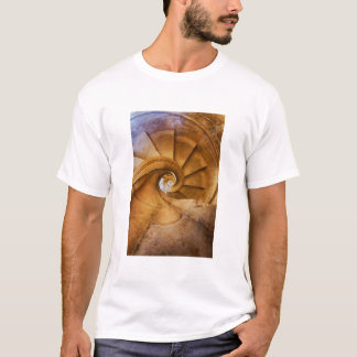 Downward spirl staircase, Portugal T-Shirt