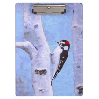 Downy Woodpecker Clipboard