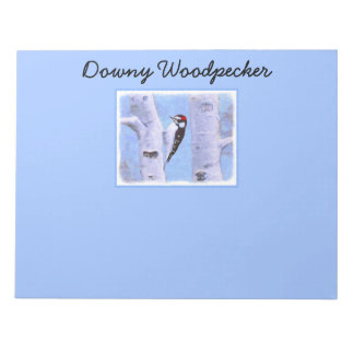 Downy Woodpecker Notepad