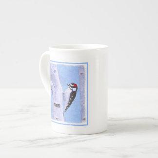 Downy Woodpecker Tea Cup