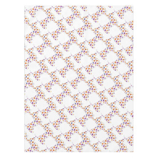 Doxie-Butterfly--White Tablecloth