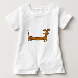 DOXIE-Cartoon Baby Romper