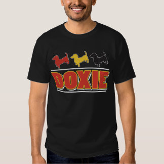 Doxie Color For Dark Tee Shirts