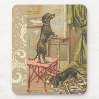 Doxie Dogs Mouse Pad