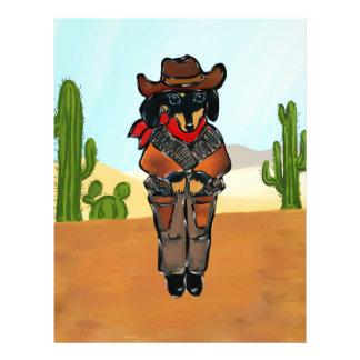 Doxie Gunslinger Letterhead