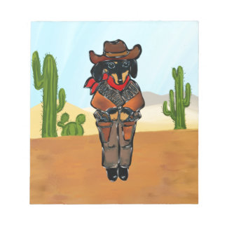 Doxie Gunslinger Notepad