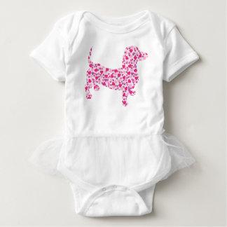 DOXIE-Hearts Baby Bodysuit