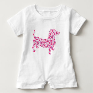 DOXIE-Hearts Baby Romper