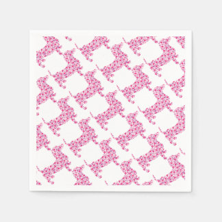 DOXIE-Hearts Disposable Napkins