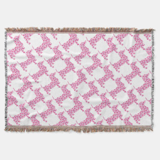 DOXIE-Hearts Throw Blanket