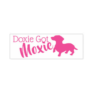 Doxie Hot Moxie Self-Inking Stamp