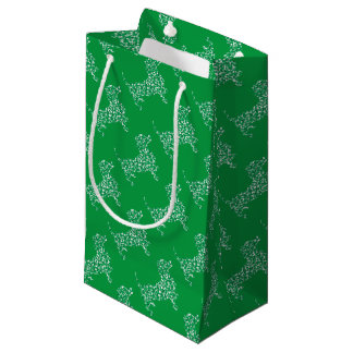 Doxie-in-Shamrocks Small Gift Bag