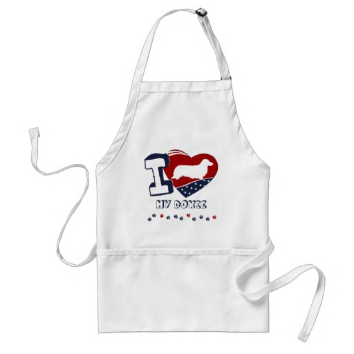 Doxie [long haired] aprons