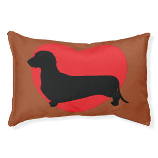 Doxie Love Dog Bed Small Dog Bed