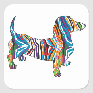 DOXIE-Psych Square Sticker