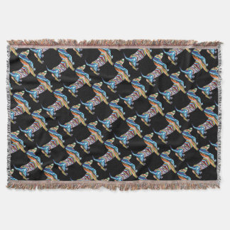 DOXIE-Psych Throw Blanket