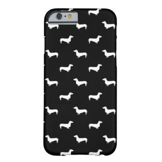 Doxie silhouette phone case - dachshund design