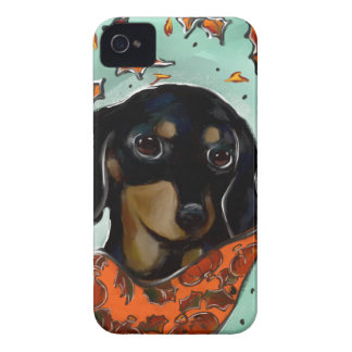 Doxie Thanksgiving iPhone 4 Case-Mate Cases