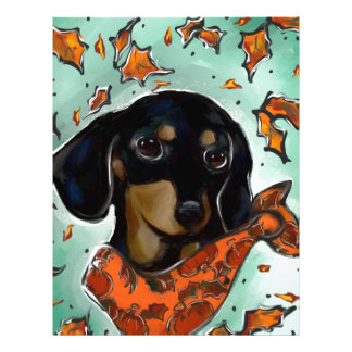 Doxie Thanksgiving Letterhead