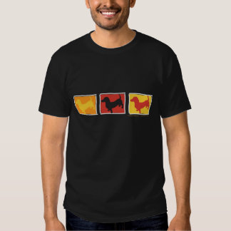 Doxies - Dachshunds repeated in three boxes T Shirts