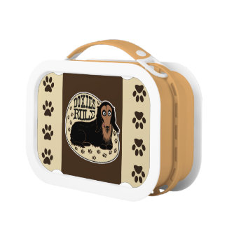 Doxies Rule Lunch Box
