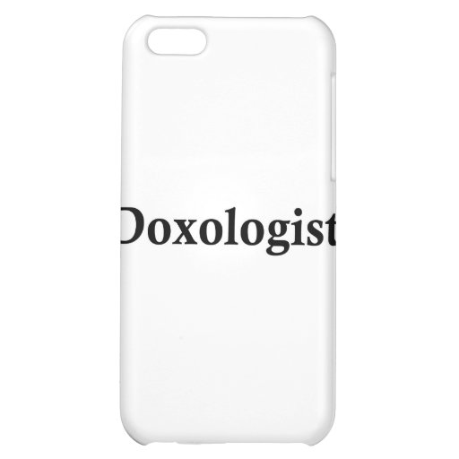 Doxologist Cover For iPhone 5C
