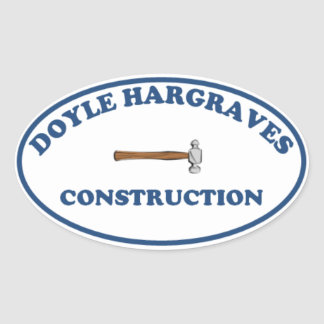 Doyle Hargrave Construction Sticker