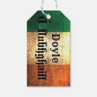 Doyle Irish Flag Gift Tags