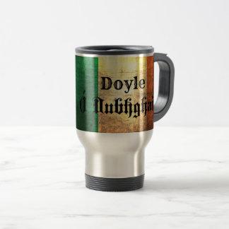 Doyle Irish Flag Travel Mug