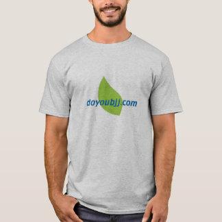 doyoubjj.com T-shirt with bjj logo