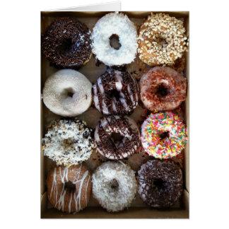 Dozen Donuts Birthday Card