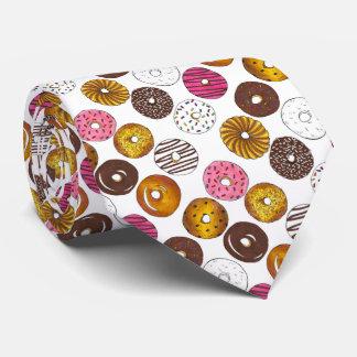 Dozen Donuts Doughnut Donut Novelty Food Tie