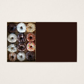Dozen Doughnuts Donuts Business Card