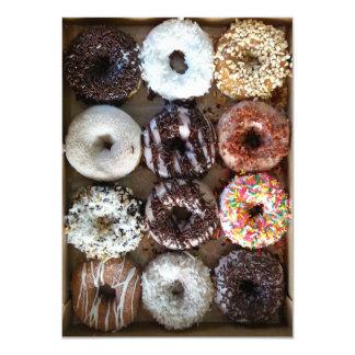 Dozen Doughnuts Donuts Party Card