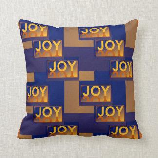 Dozen JOY   Pillow -Home - Blue/Yellow/Orange