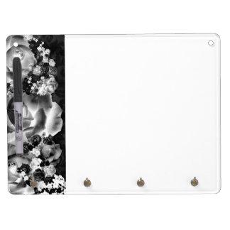 Dozen Roses Dry Erase Board With Keychain Holder
