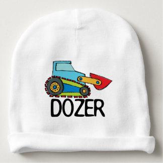 Dozer Bulldozer Transportation Baby Beanie