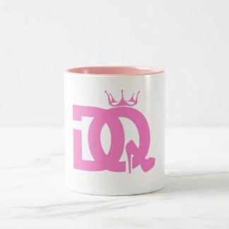 DQ logo on coffee mug