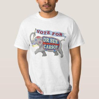 Dr Ben Carson 2016 President Republican Elephant T-Shirt