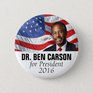 Dr. Ben Carson for President 2016 Photo Button