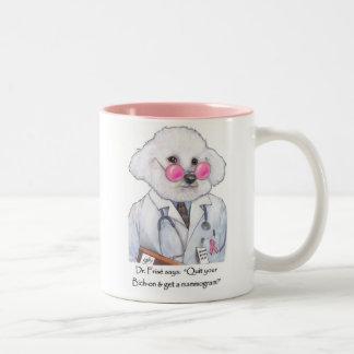 Dr. Bizou Frise on Mammograms Mug