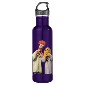 Dr. Bunsen Honeydew and Beaker 710 Ml Water Bottle