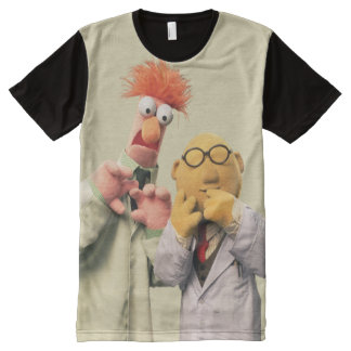 Dr. Bunsen Honeydew and Beaker All-Over-Print T-Shirt