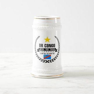 DR Congo Beer Stein