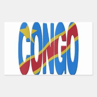 DR Congo flag Sticker